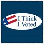 I think I voted
